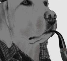 good dog save Sticker