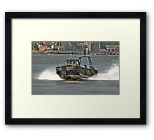 Combat Support Boat (CSB) Framed Print