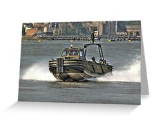 Combat Support Boat (CSB) Greeting Card