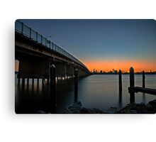 Forster Flame Canvas Print