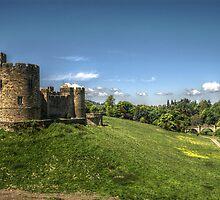 Alnwick Castle & Bridge by Andrew Pounder