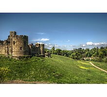 Alnwick Castle & Bridge Photographic Print