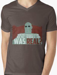 The Matrix - Morpheus: Ever had a dream... Mens V-Neck T-Shirt