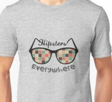 Hipsters Everywhere Unisex T-Shirt
