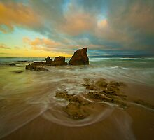 Aireys Inlet Sunrise 2 by Danielle  Miner
