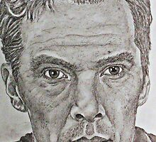 Benedict Cumberbatch by shawkeen