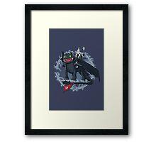 Witch King of Berk Framed Print