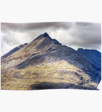 Sgurr nan Eag, Cuillins,Isle of Skye Poster
