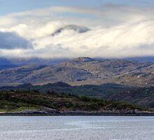 Cloud On Alligin by Jamie  Green