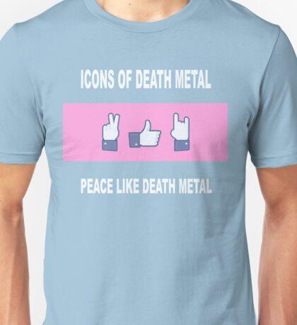 Peace Like Death Metal Unisex T-Shirt