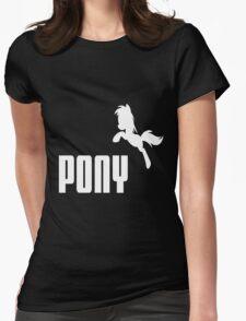 P O N Y - Puma parody Womens Fitted T-Shirt