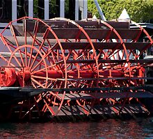 Steamer Paddle Wheel by phil decocco