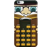 Professor Calculator  iPhone Case/Skin