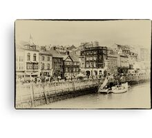 Old Whitby Canvas Print