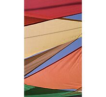Colorful banners Photographic Print