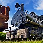 Steelworks locomotive by cclaude