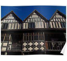 Raynalds Mansion, Much Wenlock Poster