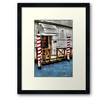 The 'other' Venice in HDR  .. [FEATURED] Framed Print