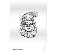 Strange clown  Poster