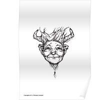 Cute little devil Poster