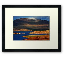 Farewell to Winter  Framed Print