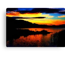 A Place Of Reflection Canvas Print