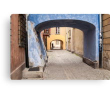 Warsaw Old Town. Canvas Print