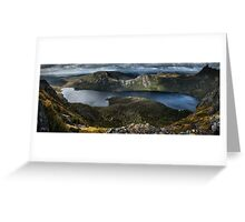 Lake Dove Panorama Greeting Card