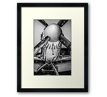 P51 Mustang Fighter plane Framed Print