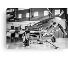 P51 Mustang Fighter plane Canvas Print
