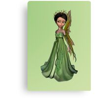 Green Fairy Canvas Print