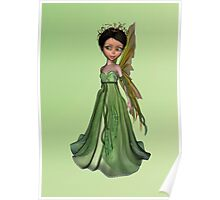 Green Fairy Poster