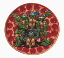Teenage Mutant Ninja Turtles by WeWantThat