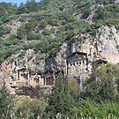 Dalyan Tombs by taiche