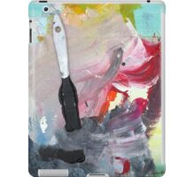 WHILE MY BRUSH GENTLY WEEPS iPad Case/Skin