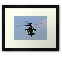 WH64 Apache Helicopter Framed Print
