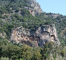 Dalyan Tombs III by taiche