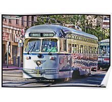 San Francisco F Line Poster