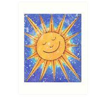 Sunny Smile Art Print