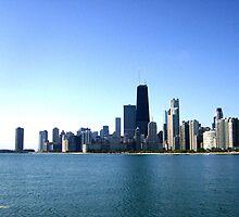 Chicago Skyline by allthingsnatura