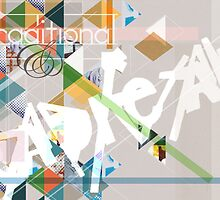 """Experimental typeface poster- """"traditional & Radical"""" theme. by ASchofieldPhoto"""