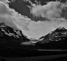 Athabasca Glacier by Thomas Tatchell