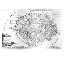 Ulster Map 1786 Poster