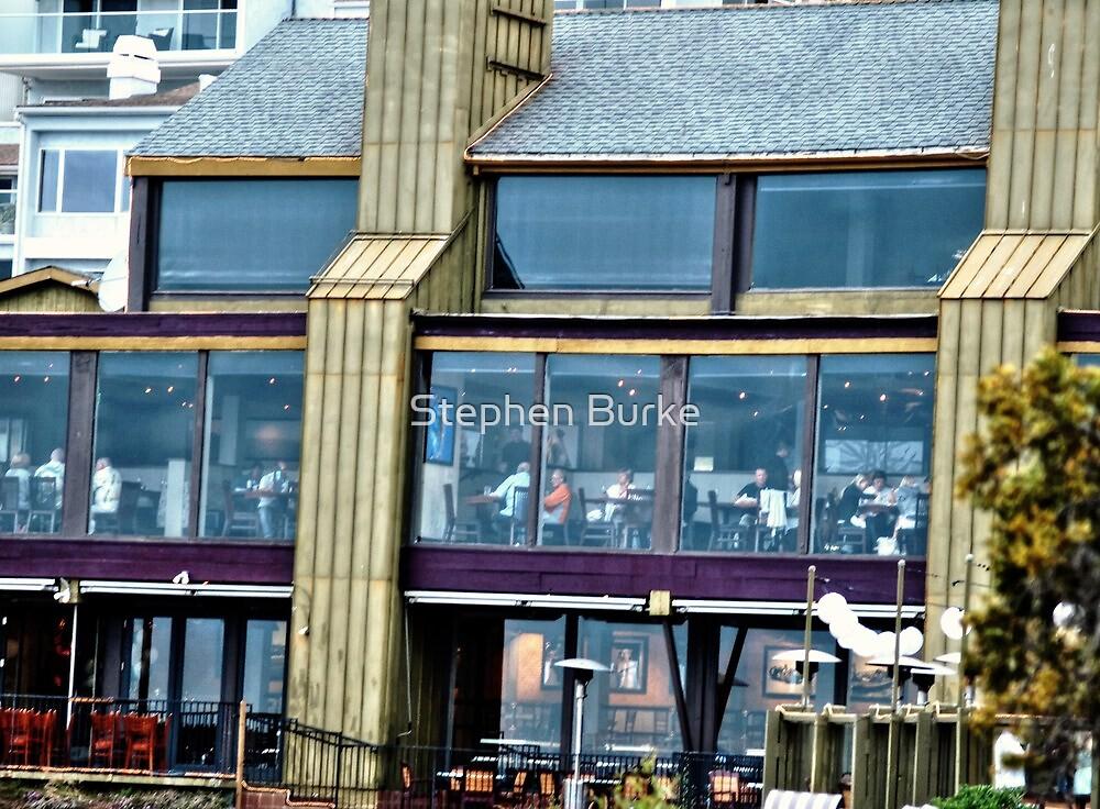 Restaurant Window by Stephen Burke