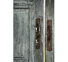 door handles Photographic Print