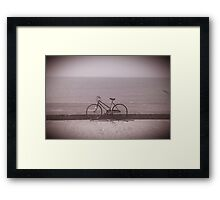 Antique Fleetwood Bicycle Framed Print