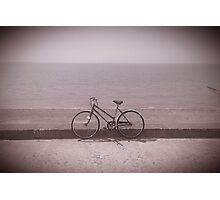 Antique Fleetwood Bicycle Photographic Print