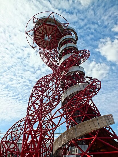 Anish Kapoor's Orbit, Olympic Park, London by Ludwig Wagner