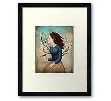 your soul is like a tree  Framed Print