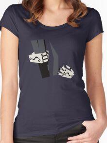 Grim Fandango Women's Fitted Scoop T-Shirt